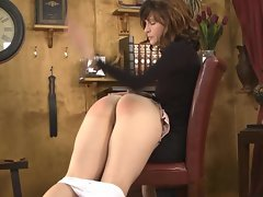Spanked OTK just about an increment of Brashness Washed just about Soap