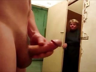 Load of shit flash with the addition of cum for granny