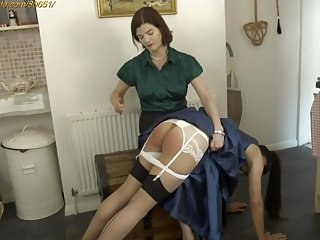 Spanking F-F on tap Clips4sale.com