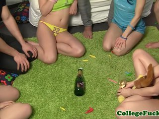 University sexgamers spinning the bottle