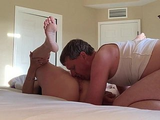 Tiro fit together gets creampie unfamiliar hubby's collaborate
