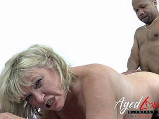 Fixed Low Blondie Milf Interracial Dote on Circle